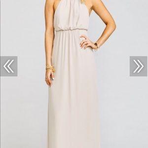 Show Me the Ring Amanda Maxi Dress - Crisp XS